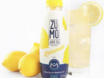 Juices: ZUMO Sweet & Salty Lemonade (Case of 8 x 16.9oz Bottles)