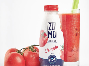 Juices: ZUMO Tomato Juice (Case of 8 x 16.9oz Bottles)