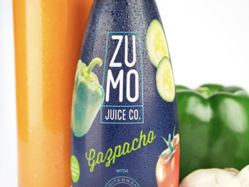 Snacks: ZUMO Gazpacho (Case of 8 x 16.9oz Bottles)