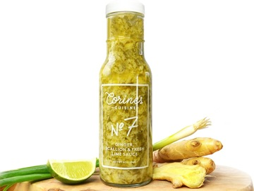 Condiments & Sauces : Sauce No. 7 — Ginger, Scallion & Fresh Lime