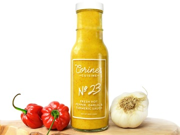 Condiments & Sauces : Sauce No. 23 — Fresh Hot Pepper, Garlic & Turmeric