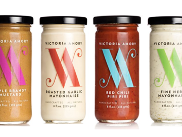 Condiments & Sauces : Victoria Amory & Co. Artisanal Condiments, 6 pk