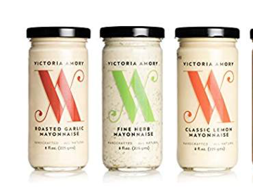 Condiments & Sauces : Victoria Amory Artisanal Mayonnaise Collection, 3 pk