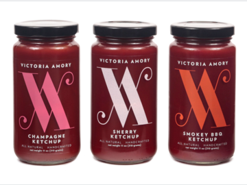 Condiments & Sauces : Victoria Amory Artisanal Ketchup Collection