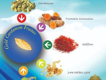 Condiments & Sauces : GOLD CARDAMOM FRUITAS