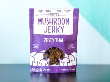 Snacks: Pan's Mushroom Jerky - Zesty Thai