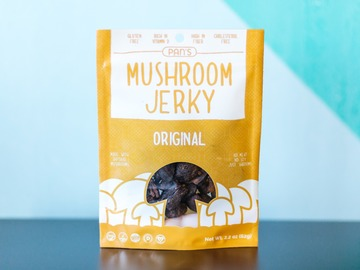 Snacks: Pan's Mushroom Jerky - Original