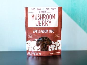 Snacks: Pan's Mushroom Jerky - Applewood BBQ