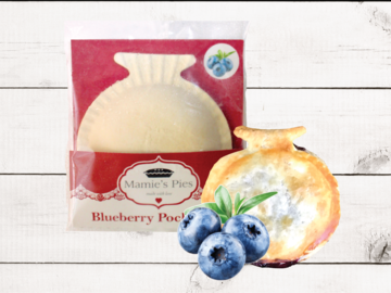 Frozen Goods : Mamie's Blueberry Pocket Pies | 12 Pack