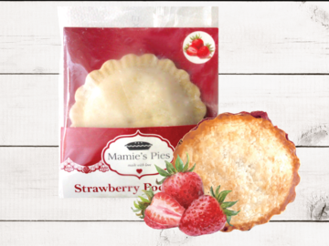Frozen Goods : Mamie's Strawberry Pocket Pies | 12 Pack
