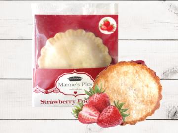 Frozen Goods : Mamie's Strawberry Pocket Pies | 12 Pack