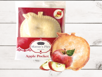 Frozen Goods : Mamie's Apple Pocket Pies | 12 Pack