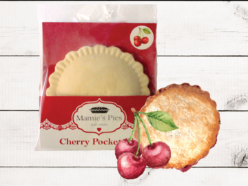Frozen Goods : Mamie's Cherry Pocket Pies | 12 Pack