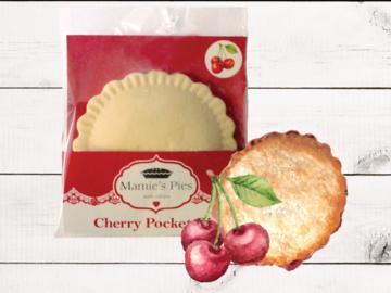Frozen Goods : Mamie's Cherry Pocket Pies | 12 Pack
