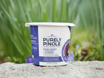 Snacks: Pinole Grab & Go Snack Cup, Maqui Berry+Coconut+Almond, 8ct