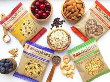 Snacks: Kakookies Superfood Oatmeal Snack Cookies - Sampler Pack