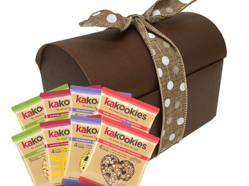 Snacks: Kakookies Superfood Oatmeal Snack Cookies - Gift Box