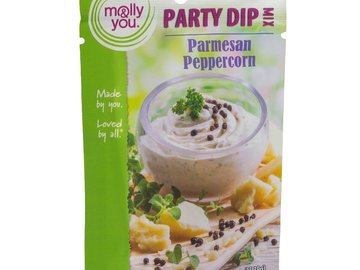 Herbs, Spices & Seasoning: molly&you® Parmesan Peppercorn Party Dip Mix
