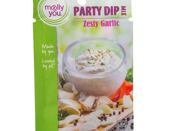 Herbs, Spices & Seasoning: molly&you® Zesty Garlic Party Dip