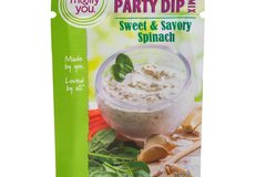 Herbs, Spices & Seasoning: molly&you® Sweet & Savory Spinach Party Dip Mix