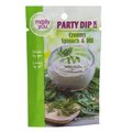 Herbs, Spices & Seasoning: molly&you® Creamy Spinach & Dill Party Dip Mix
