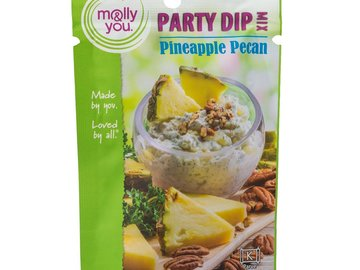 Herbs, Spices & Seasoning: molly&you® Pineapple Pecan Party Dip Mix