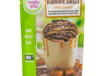 Snacks: molly&you® 3-Pack Salted Caramel Brownie Single