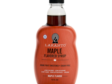 Baked Goods : Lakanto Syrup Maple 13 FL oz