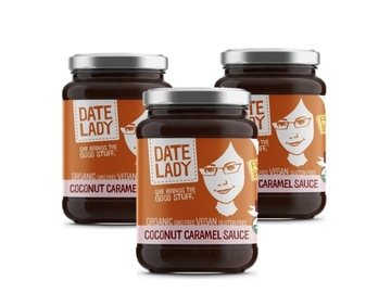 Condiments & Sauces : Coconut Caramel Sauce 3-Pack