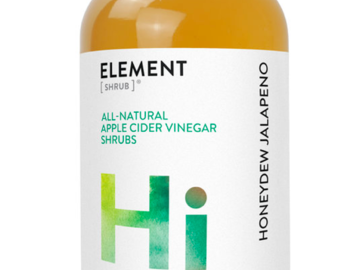 Cider: Honeydew Jalapeno Shrub