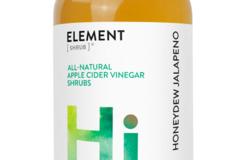 Cider: Honeydew Jalapeno Shrub