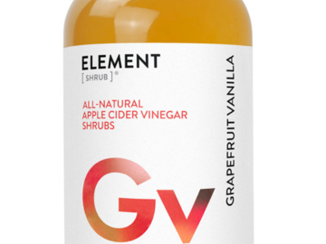 Cider: Grapefruit Vanilla Shrub