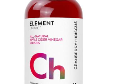 Cider: Cranberry Hibiscus Shrub