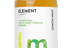 Cider: Lemon Mint Shrub