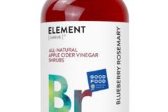 Cider: Blueberry Rosemary Shrub