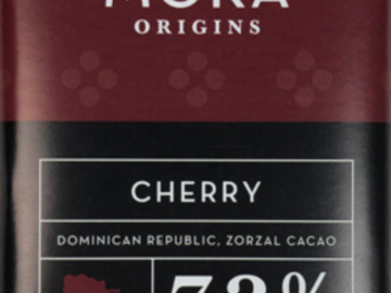Chocolate : Cherry Dark Chocolate: Dominican Republic Single Origin
