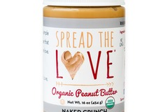 Small Batch: Spread The Love® NAKED CRUNCH Organic Peanut Butter
