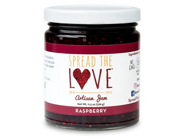 Preserves: Spread The Love® RASPBERRY Artisan Jam