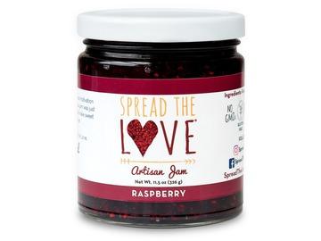 Preserves: Spread The Love® RASPBERRY Artisan Jam