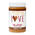 Small Batch: Spread The Love® UNSALTED Almond Butter