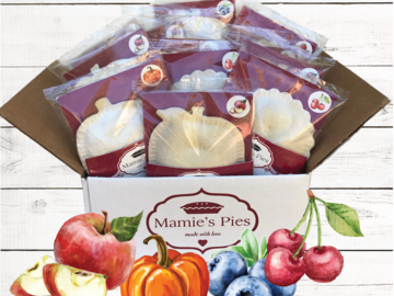 Frozen Goods : Mamie's Pocket Pies | Holiday Variety 12 Pack