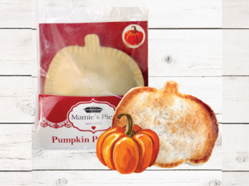 Frozen Goods : Pumpkin Pocket Pies |  12 Pack