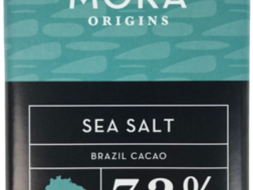 Chocolate : Sea Salt Dark Chocolate Bar: Brazil Single-Origin