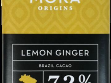 Chocolate : Lemon Ginger Dark Chocolate Bar: Brazil Single-Origin