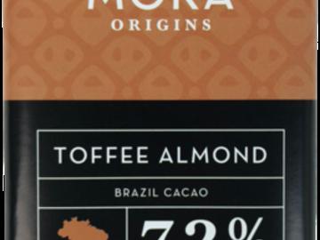 Chocolate : Toffee Almond Dark Chocolate Bar: Brazil Single-Origin