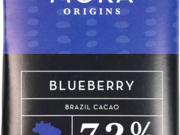 Chocolate : Blueberry Dark Chocolate Bar: Brazil Single-Origin