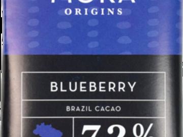 Chocolate : Blueberry Dark Chocolate Bar: Brazil Single-Origin