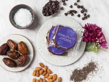 Baked Goods : Plant-Based & Gluten-Free Chocolate Chia Cookies