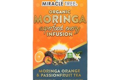 Coffee & Tea : Organic Moringa Energy Infusion, Orange Passionfruit, 16Ct. x 5