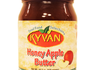 Condiments & Sauces : KYVAN Honey Apple Butter